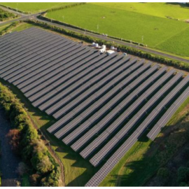 NZ's Largest Solar Farm (currently) Up and Running