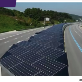Solar Highways become Dual Purpose in South Korea